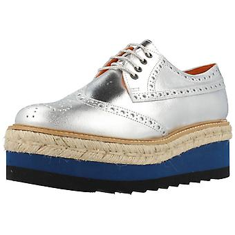 Jeffrey Campbell Shoes Casual Eternal Silver Color