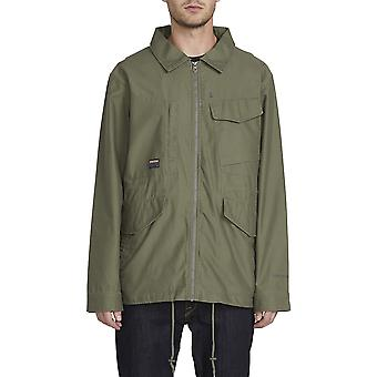 Volcom Peace Tribe Jacket in Army Green Combo