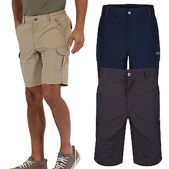 Regata Hombres Delph bolsillos Water Repellent pantalones cortos transpirables