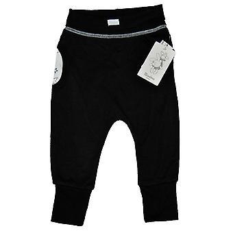 Baby broek zwart met sterren Bamboe 68 cl