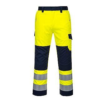 Portwest-HI-VIS pracovný odev MODAFLAME nohavice