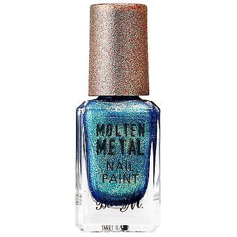 Barry M Molten Metal Nail Polish Collection - Crystal Blue (MTNP17) 10ml