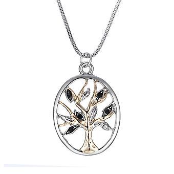 Hohlbaum des Lebens Halskette