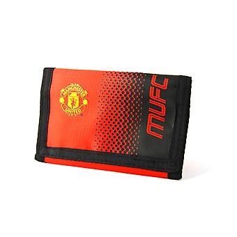 Manchester United FC Touch Fastening Fade Design Nylon Wallet