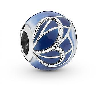 Animali 797886ENMX - blue Charm in argento Pandora fascino di ala di farfalla