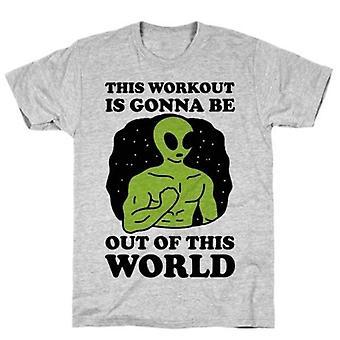 Cette séance d'entraînement va t-shirt