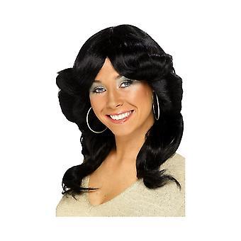 Smiffys Womens/Ladies 70s Flick Wig