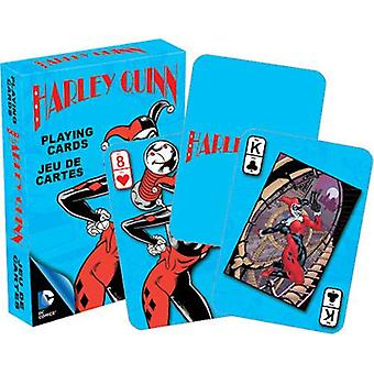 Dc comics harley quinn retro playing cards