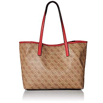 Guess Vikky Tote Shoulder Bag from Women's Brown Size One
