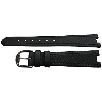 Authentische tissot Uhr Armband schwarz Kalb 18mm