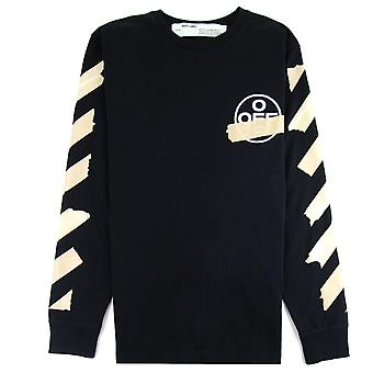 OFF-WHITE Off White Tape Arrows L/s T-shirt Black