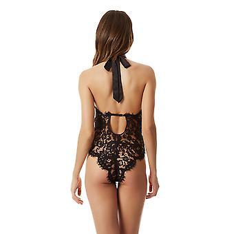 Bluebella 40169 Women's Natalia Black Lace One Piece Body