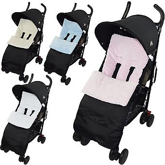 Universal Marshmallow Pushchair Footmuff / Cosy Toes - Fits All Pushchairs / Prams And Buggies