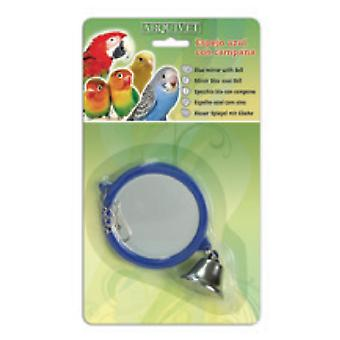 Arquivet With Mirror Blue Bell 10,5X9X1 Cm (Birds , Bird Cage Accessories , Mirrors)
