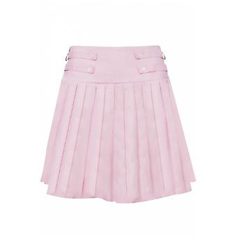 Jawbreaker Clothing My Sweetheart Pleated Pink Mini Skirt