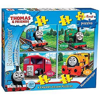 Ravensburger 7053 meu primeiro quebra-cabeça Thomas & amigos quebra-cabeças