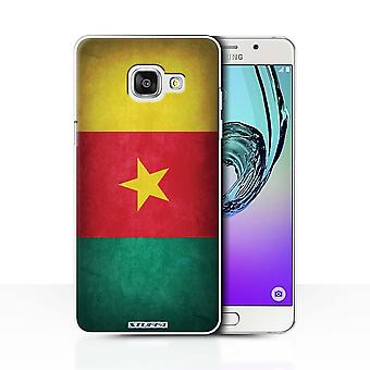 STUFF4 Case/Cover for Samsung Galaxy A7 (2016)/Cameroon/Cameroonian/Flags