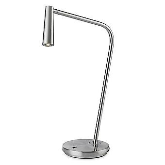 Leds-C4 Gamma - LED Lampa stołowa Satin Nickel 175lm 2700K - 10-6420-81-81
