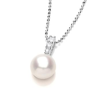 David Deyong Sterling Silver Pearl Necklace June Birthstone