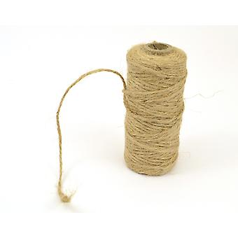 75m 4ply Natural Jute Twine String for Crafts  Twine Cord & Elastic for Crafts