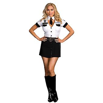 Women Sexy TSA Strip Search Unit Plus Costume