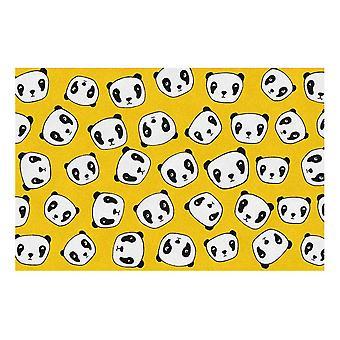 Kids Rug - Panda - Wasbaar -115 x 175 cm