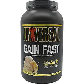 Universal Nutrition Gain Fast Voedingssupplement - 10 porties - Banana Shake