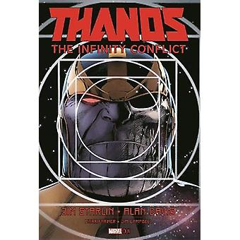 Thanos - The Infinity Conflict by Jim Starlin - 9781302908140 Book