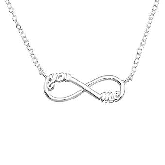 You and Me Infinity Inline - 925 Sterling Ezüst Sima Nyakláncok - W20701x