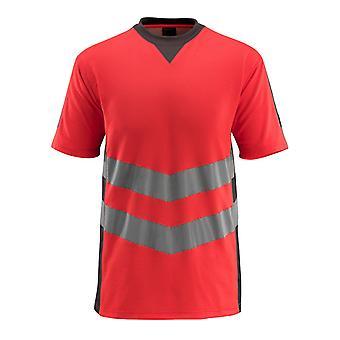 マスコットサンドウェルハイビスTシャツ50127-933 - 安全な最高、メンズ