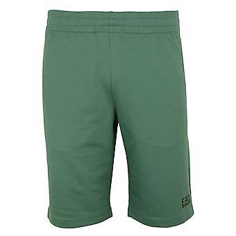 Ea7 emporio armani men's dark forest shorts
