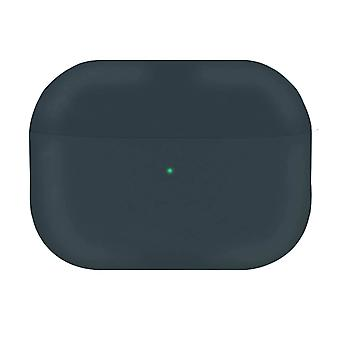 Full Body AirPods Pro Case Cover Silicone Soft-touch Qi Wireless-Anthracite Grey