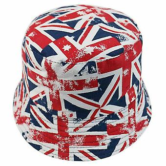 Union Jack Wear Union Jack Flag Bucket Hat - Stora flaggor