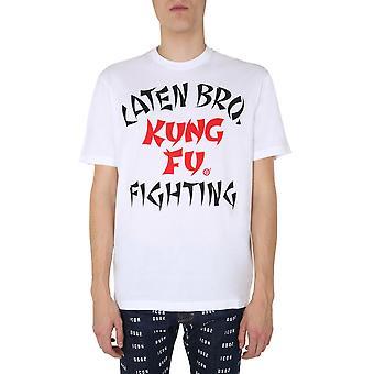 Dsquared2 S71gd0879s22427100 Miesten's Valkoinen Puuvilla T-paita
