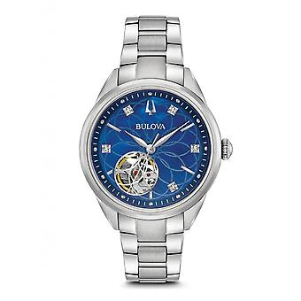 Bulova 96P191 Damen's Klassische automatische Diamant Armbanduhr