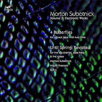 M. Subotnick - Morton Subotnick: 4 Butterflies; Until Spring: Revisited [CD] USA import