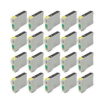 استبدال 20 x روديتوس لوحدة الحبر أبسون فرس البحر الأسود متوافق مع الصور ستايلس R200، R220، R300، R300M، R320، R325، R330، R340، R350، RX300، RX320، RX500، RX600، RX620، RX640