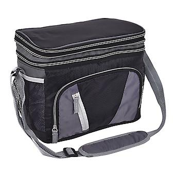 Large Double-layer Ice Pack Lunch Cooler Cool Bag Box Insulation Storage Picnic