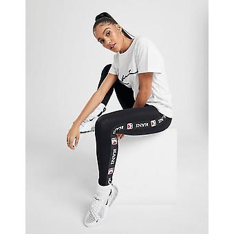 New Karl Kani Women's  Tape Leggings Black