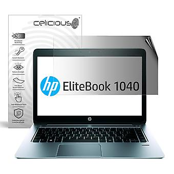 Celicious Privacy 2-Way Anti-Spy Filter Screen Protector Film Compatible with HP Elitebook Folio 1040 G1