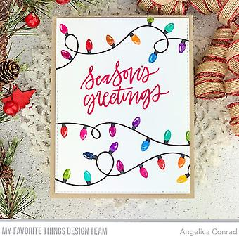 My Favorite Things Party Lights Clear Stamps