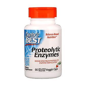 Proteolytische Enzymen 90 plantaardige capsules