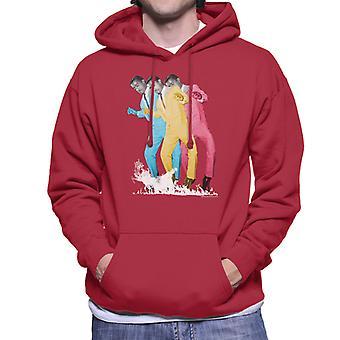 Sammy Davis Jr Pop Art Trio mannen Hooded Sweatshirt