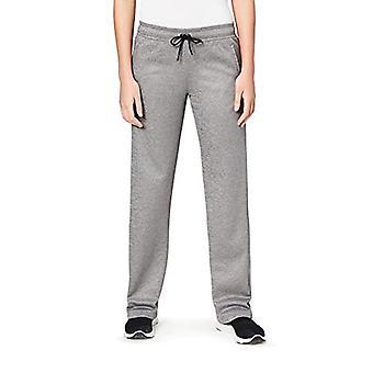 Brand - Core 10 Women's Chill Out Fleece Wide Leg Pant (XS-XL, Plus Size 1X-3X), Slate Heather, M (8-10)
