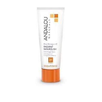 Andalou Naturals Iluminando Chia Omega + C Radiante Skin Polish