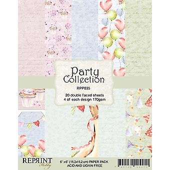 Reprint Party 6x6 Inch Paper Pack