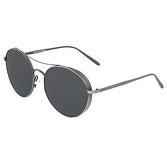 Breed Barlow Titanium Polarized Sunglasses - Gunmetal/Black