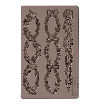 Re-Design with Prima Floral Chain 5x8 Inch Mould