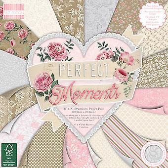 Primera edición Momentos perfectos 8x8 pulgadas de papel Pad