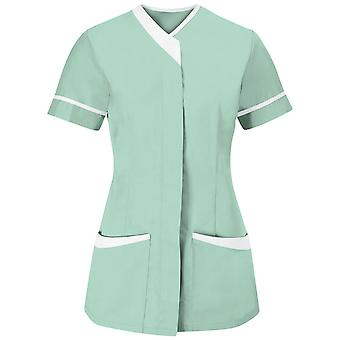 Alexandra womens/hölgyeim Contrast Trim orvosi/egészségügyi munka Tunic (2 db)